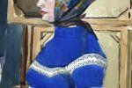 Портрет Оли. 1974