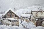Снежная зима в Джалал-Абаде. 1969