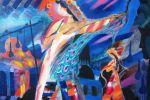 108. Кагаров Медат.рождение мелодии 08г. 80х100 х.м.800
