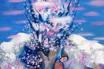 115. Кагаров Медат. когда цветет миндаль 08г. 80х60 х.м.