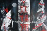 133. Кагаров Медат. минувшие дни 08г. 70х80 х.м.Цюрих600