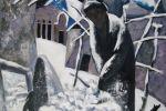 140. Кагаров Медат. последний снег(лайлик кор) 08г. 100х90 х.м.