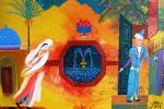 153. Кагаров Медат. тайное свидание 08г. 50х60 х.м.