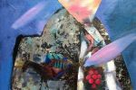 157. Кагаров Медат.картинки старого города(1) 08г.35х42 х.м.