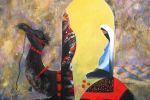 158. Кагаров Медат. отдых в пути III,08г.70х80 х.м.