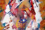 162. Кагаров Медат. По дороге в Самарканд. Х.,м. 2008 г. 90х80 см.