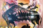 174. Кагаров Медат. ЭКО-XXI век 08г.70х80 х.м.1000