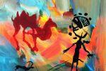 183. Кагаров Медат. источник вдохновения 09г. 70х70 х.акр.