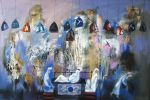 191. Кагаров Медат. Былые дни. Х.,м. 2009 г. 78,5х118 см.