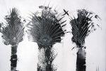 302. Кагаров Медат. зарисовка I ,10г. 70х80 х.м.