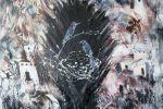 304. Кагаров Медат. метаморфозы VI,10г. (домики для птиц ) 90х100 х.м.