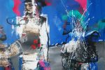 308. Кагаров Медат. за прекрасных дам 2010г.70х80 х.м.