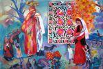 324. Кагаров Медат. женщины Фарижа 10г. 95х114 х.м.