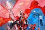 331. Кагаров Медат. багряная осень 10г. 60х70 х.м.
