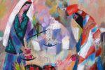 454. Кагаров Медат. картинки старого города III 45х43,5 х.м.