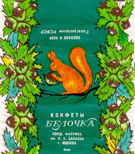 Конфеты  «из тех времен» далеких русских, и советских (остались одни фантики)))