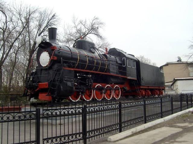 Паровоз Ташкент