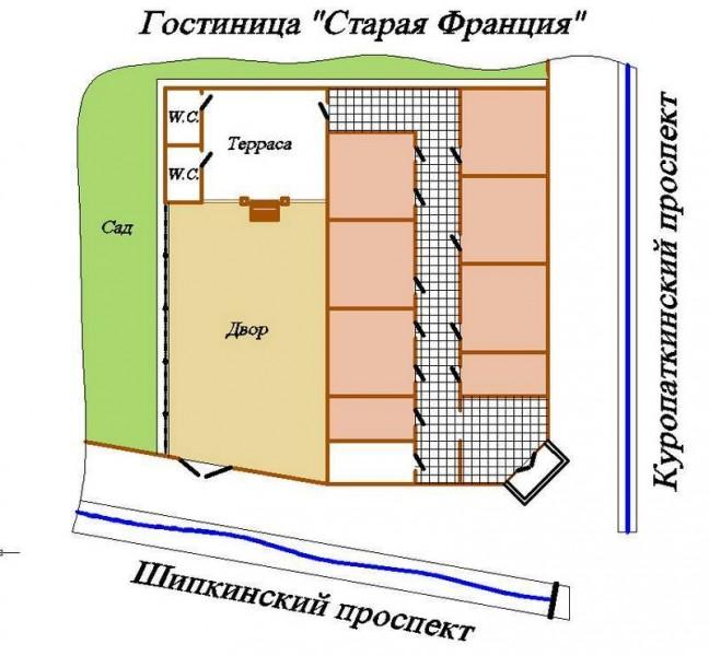 соединяющий здание