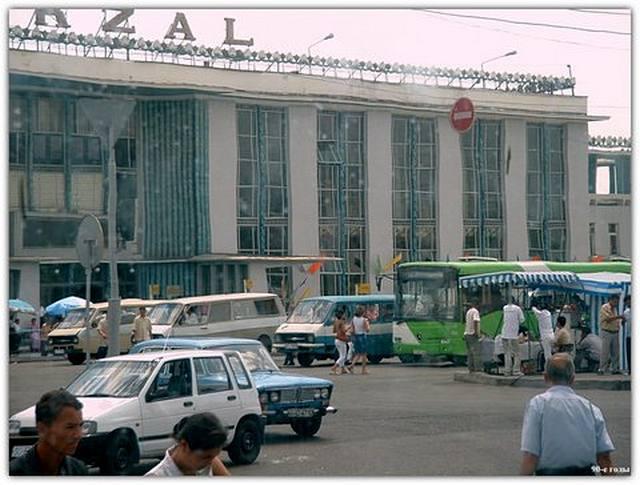 90-е годы вокзал