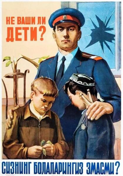 Vintage Posters of Soviet Police (13)