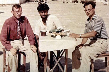 В.М.Массон, ВИС, И.Н.Хлопин, Туркмения 50-е годы