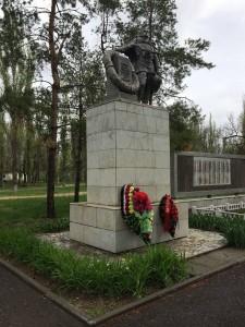 Братская могила в Паншино, где похоронен дедушка