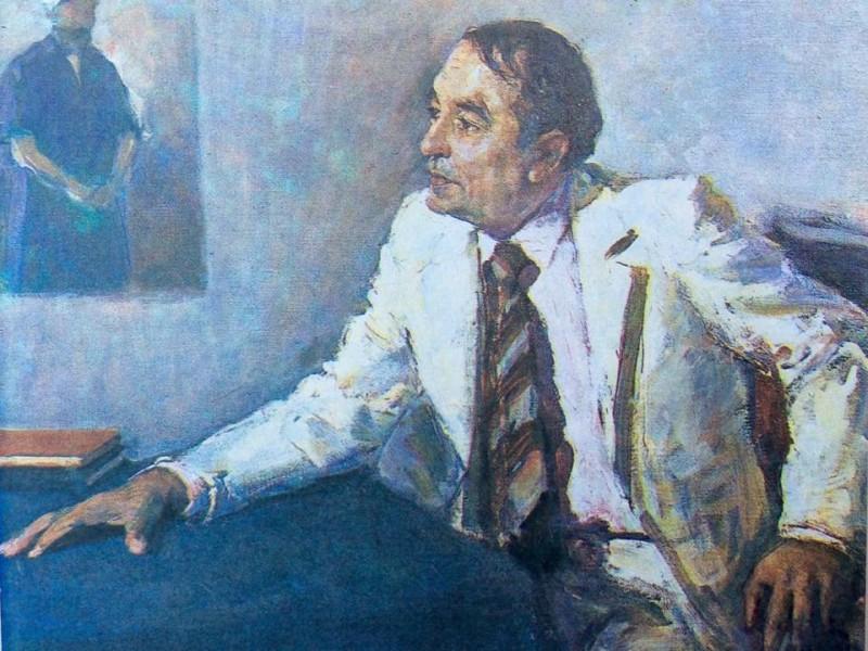 Портрет поэта Эркина Вахидова