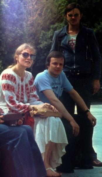 5 С музыкантами Адамом Левандовским и Збигневом Волынским, Ташкент, 1979 г.