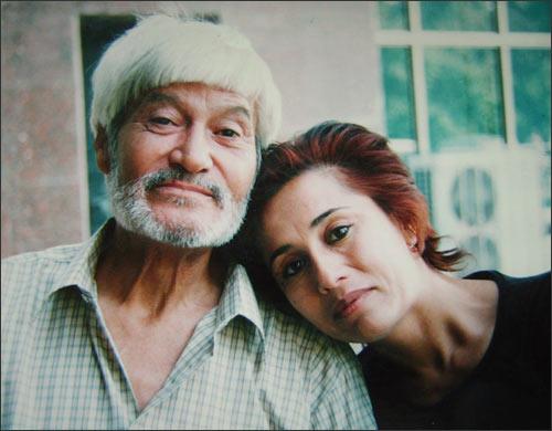 На фото Рауф Парфи с супругой