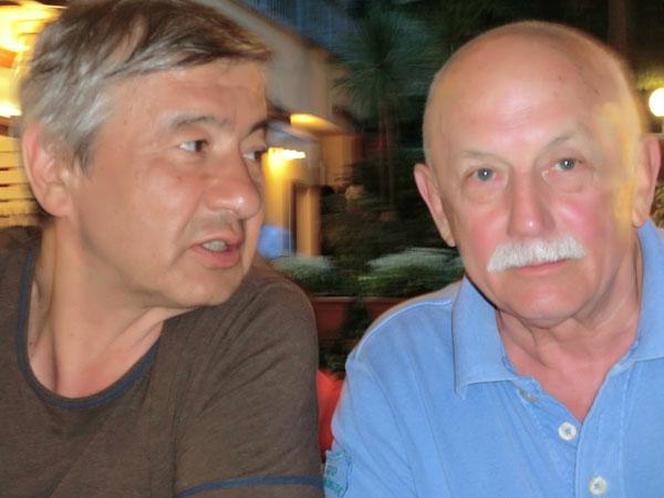 Акрам Муртазаев и Александр Фитц
