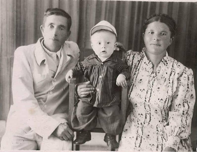 Мама, папа и мой брат