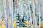 Осенний лес в Прибалтике. 1962