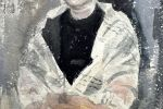 Портрет латвийской художницы. 1962