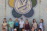 мозаичные панно на тему XII Всемирного фестиваля молодёжи и студентов в Москве