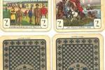 Трофейные немецкие игральные карты, привезенные Ибрагимовым с фронта