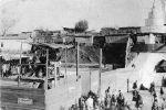 Место узбекских национальных увеселений в Старом городе (цирк на открытом воздухе)