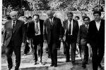 Первый секретарь ЦК  КП Узбекистана Ш. Р. Рашидов и У. Я. Ибрагимов