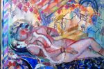 103. Кагаров Медат. 0тдых. Х.,м. 2008 г. 74х91,5 см.