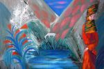 170. Кагаров Медат. у воды 08г. 50х60 х.м.