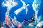 185. Кагаров Медат. Святой источник. Х.,м. 80х80 см. 2009 г.