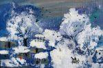 207. Кагаров Медат. зима в горном поселке 09г.25х35 х.м.