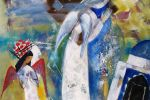 227. Кагаров Медат. молитва в полдень 09г. 90х80 х.м.