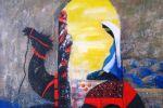 246. Кагаров Медат.отдых в пути 09г. 70х80 х.м.800