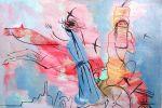 274. Кагаров Медат. с насиженных мест 09г. к.м.36х47