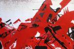 29а. Кагаров Медат.красный гонец ... лев.ч.135х85 х.м.