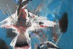 317. Кагаров Медат.раненная птица 10г. 90х100 х.м.