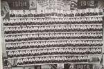 Виньетка. Выпуск лейтенантов Ташкентского Краснознамённого военного училища им. Ленина. 1939-1941 годы. фото Александра Олешковича.