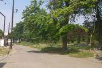 С той же точки, взгляд в сторону улицы Навои. Когда-то можно было выйти к Луна-парку…