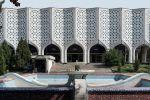 Выставочный зал Союза художников Узбекистана, архитекторы Р. Хайрутдинов, Ф. Турсунов, 1974