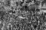 Похороны убитых рабочих во время Революции 1905-1907